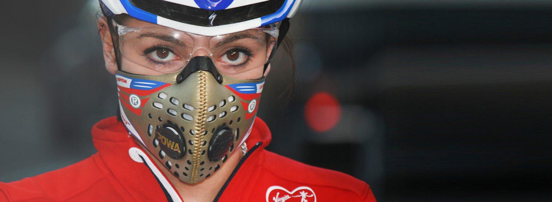 Maska antysmogowa na rower Respro Cinqro