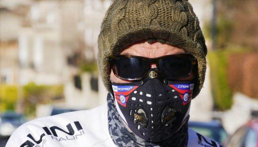 Maska antysmogowa Respro Cinqro Black – moja opinia